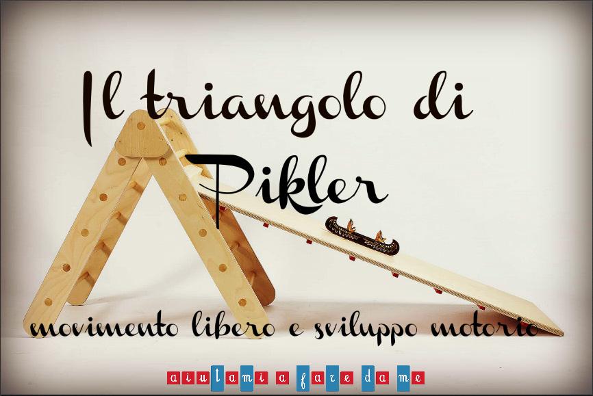 Il triangolo di Pikler: movimento libero e sviluppo motorio