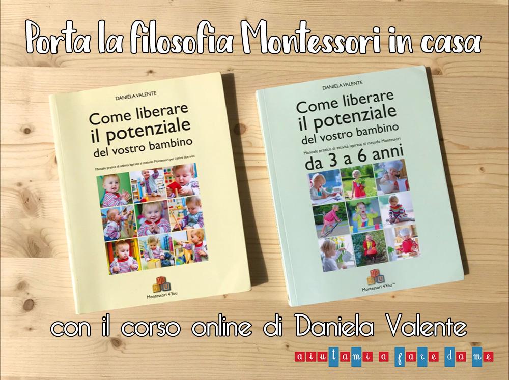 Porta la filosofia Montessori in casa: il corso online di Daniela Valente